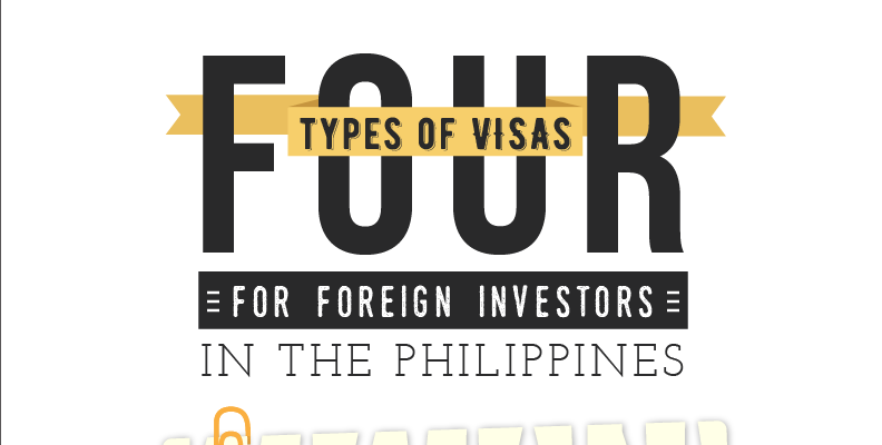 4 Types of Visas for Foreign Investors in the Philippines